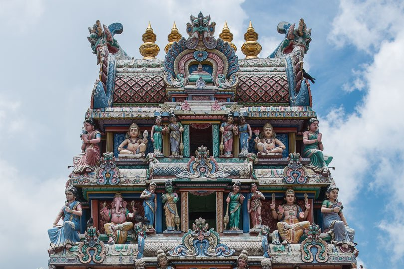 Singapur, Sri Mariamman Tempel, Singapore Highlights