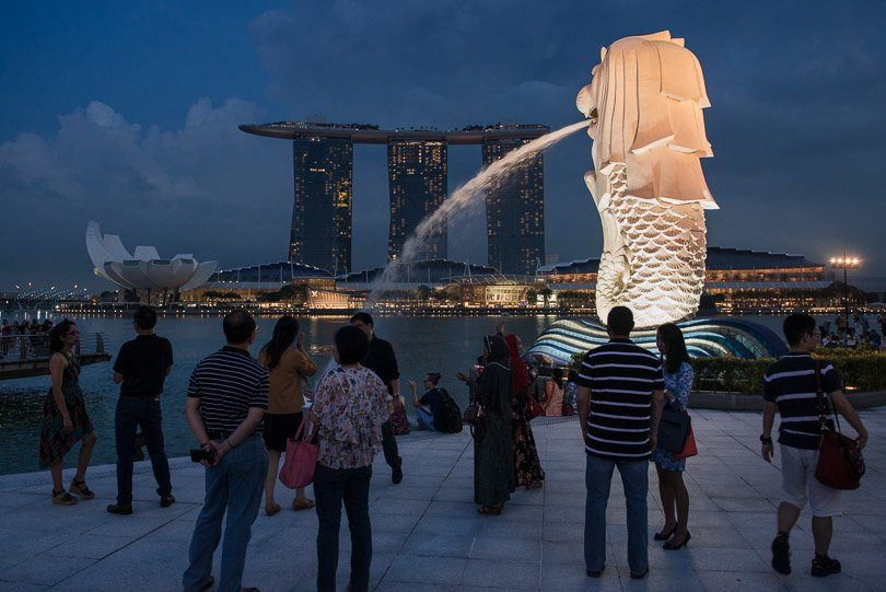Singapur, Merlion, Highlights