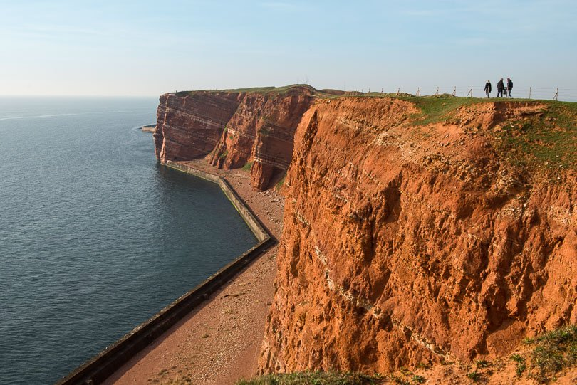 Helgoland am Abend