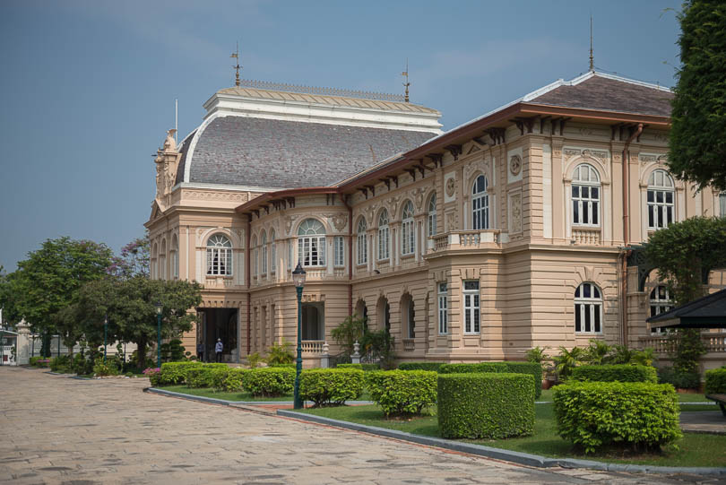Royal Hall of Borom Phiman in Bangkok